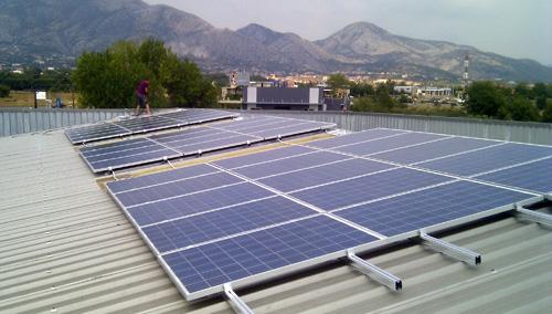 Φωτοβολταικό σε Βιομηχανική στέγη 9,9kW