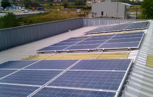 Φωτοβολταϊκό σε Βιομηχανική στέγη